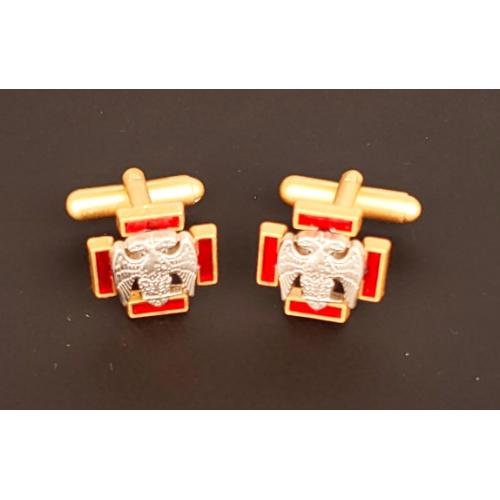 Masonic Scottish Rite 30th degree cufflinks