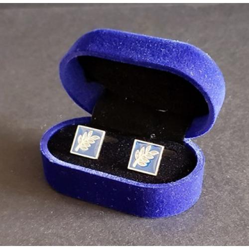 Masonic freemasonry Sprig of Acacia cufflinks