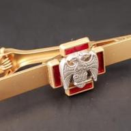 Masonic Scottish Rite 30th degree tie bar clip